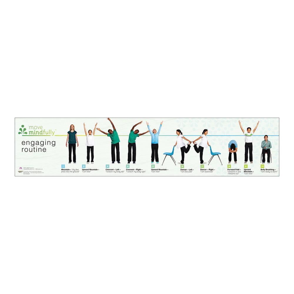 Move Mindfully™ Yoga Sequence Card | Engaging