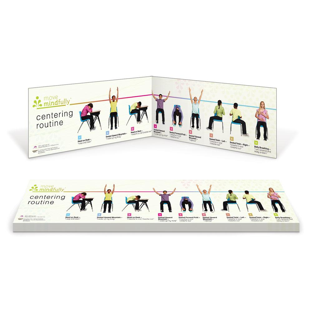 Move Mindfully™ Centering Yoga Sequence Cards