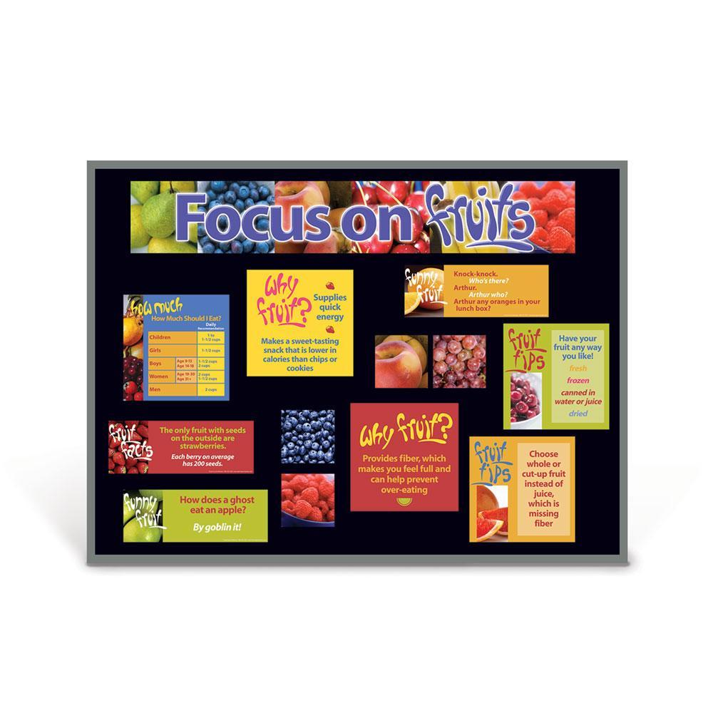 Food Groups Bulletin Board Set of 6 | Fruits