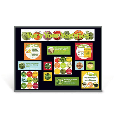 Food Groups Bulletin Board Set of 6 | Vegetables