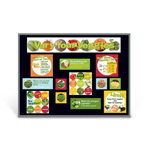 Vegetables Bulletin Board Kit