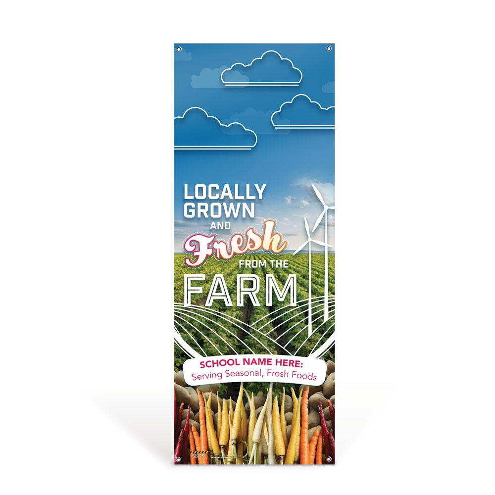 Custom Vinyl Banner: Farm to School