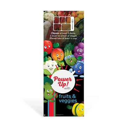 Garden Heroes® Fruit and Veggie Vinyl Banner