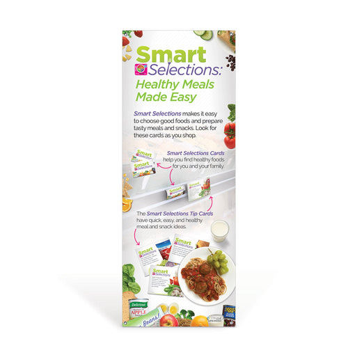 Smart Selections: Healthy Meals Made Easy Vinyl Banner