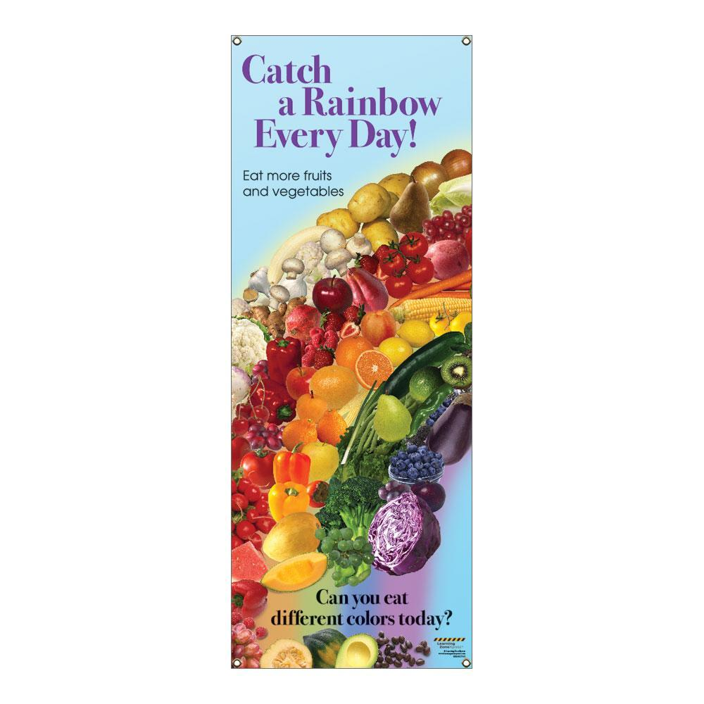Catch A Rainbow Vinyl Banner