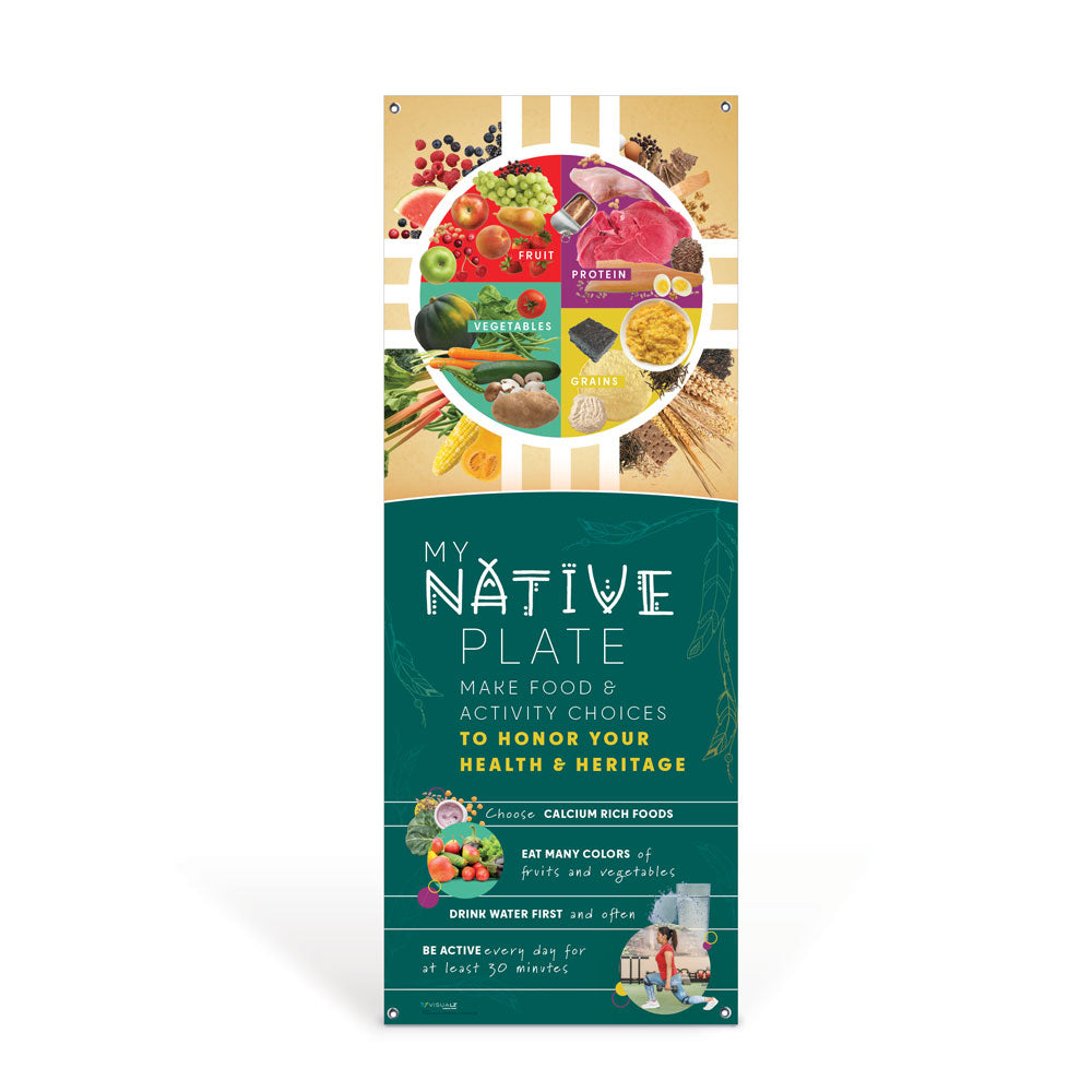 My Native Plate Vinyl Banner