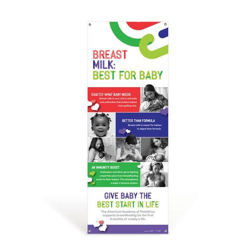 Breast Milk Best for Baby Banner