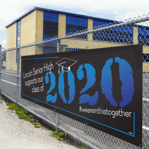 Class of 2020 Seniors Custom Outdoor Banner