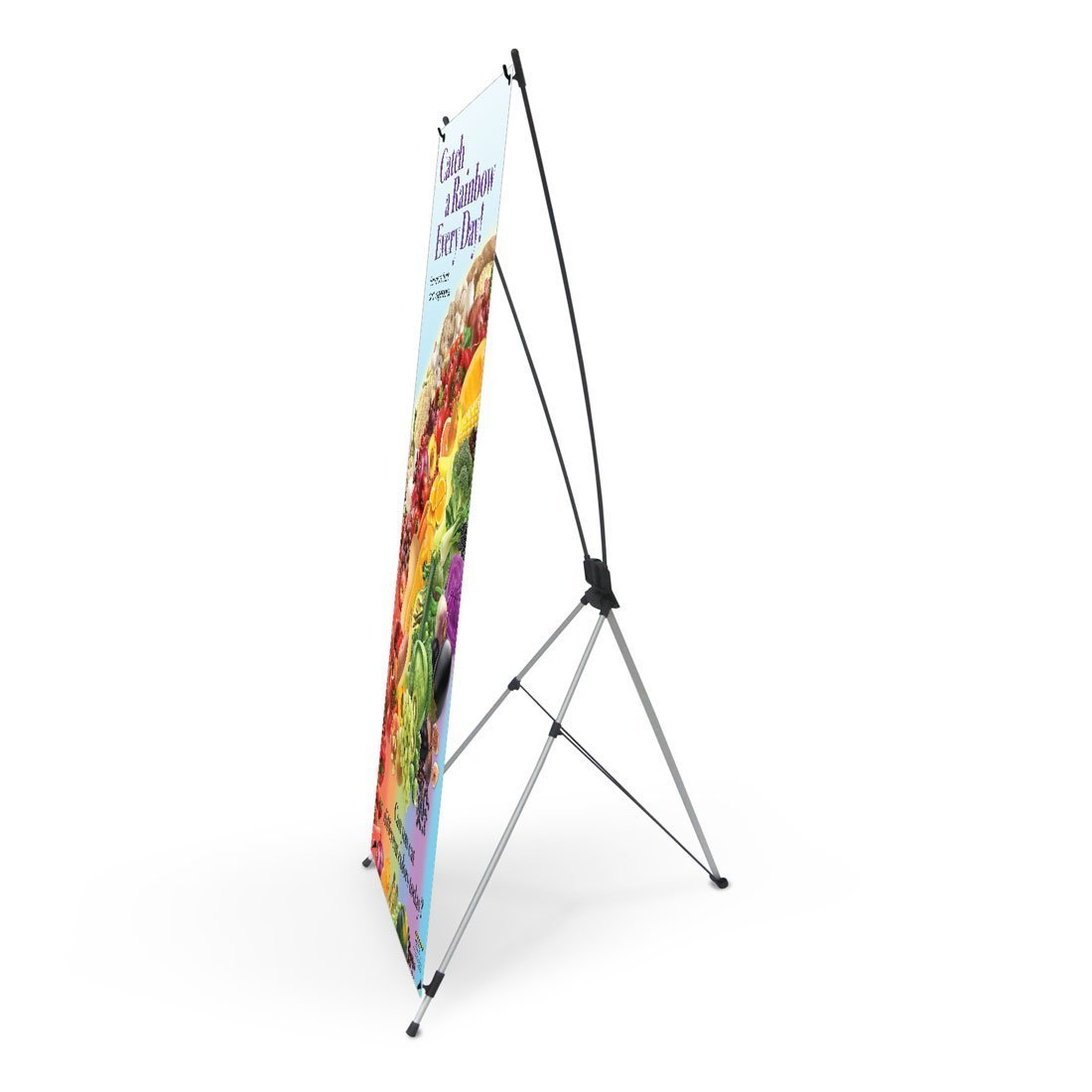 Catch A Rainbow Vinyl Banner and Stand