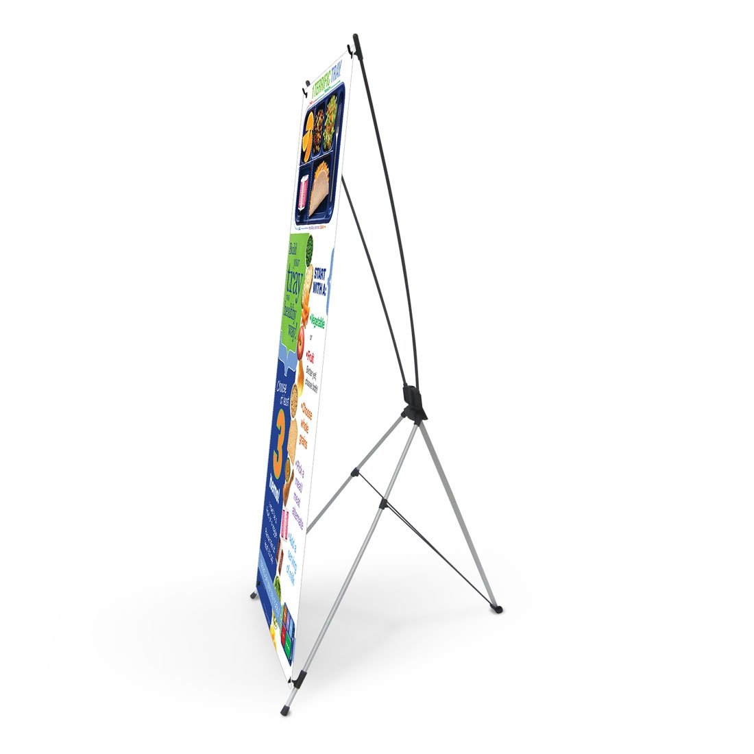 1 Terrific Tray™ Vinyl Banner with Stand