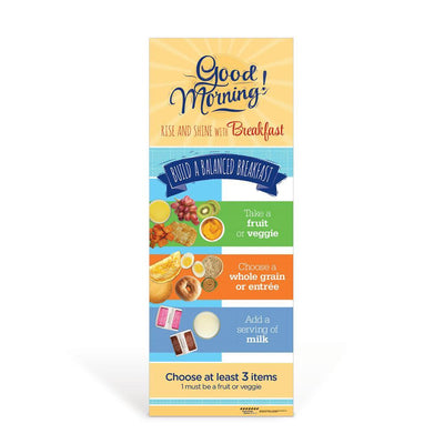 Breakfast Decal Banner