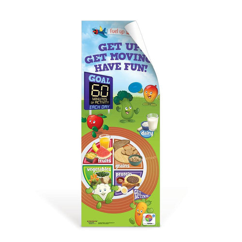 Active Kids MyPlate Decal Banner