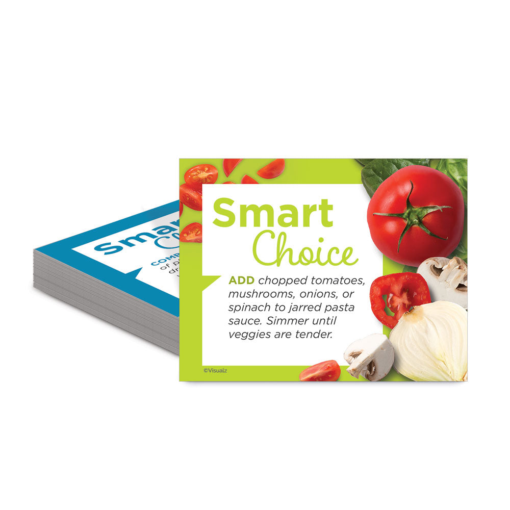 Smart Choice Food Pantry Nutrition Tip Cards