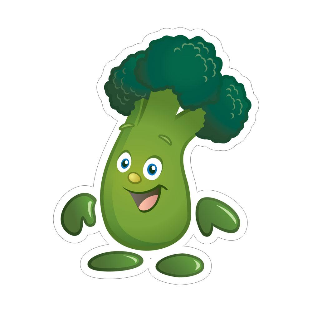 Garden Heroes® Broccoli Iron-On Transfer