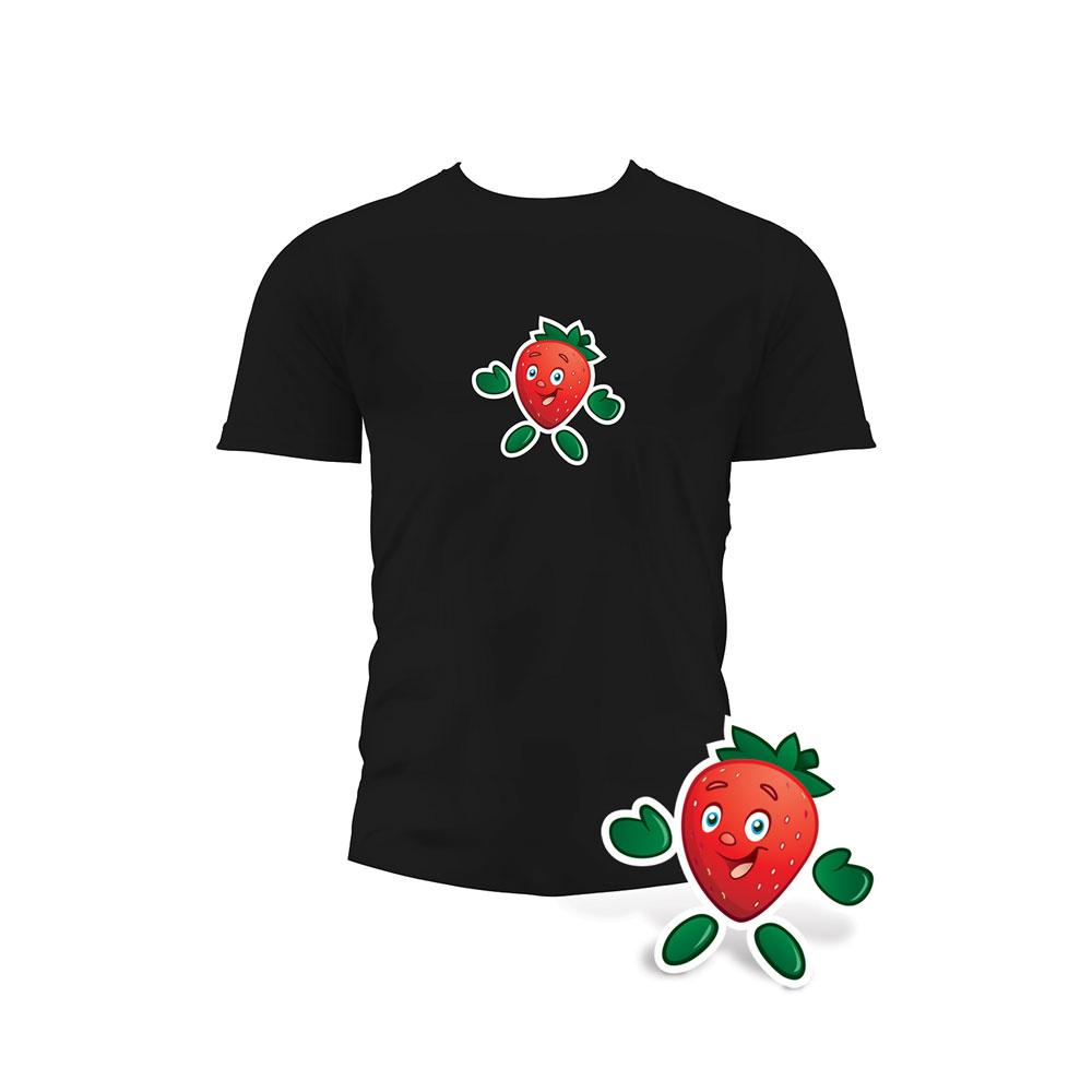 Garden Heroes® Strawberry Iron-On Transfer
