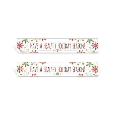 Healthy Holidays Serving Line Sign Set