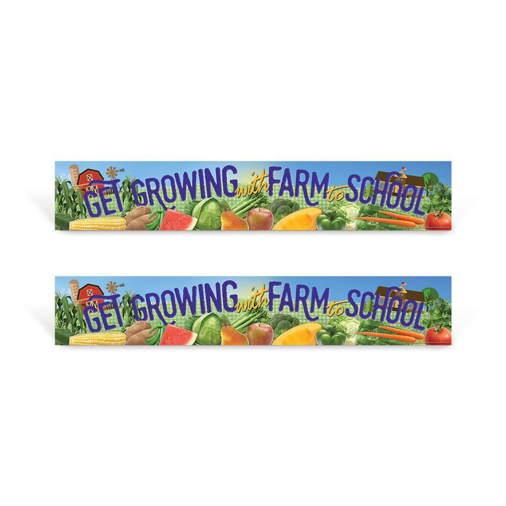 Farm to school signs