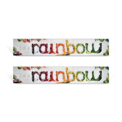 Eat a Rainbow Sign Set