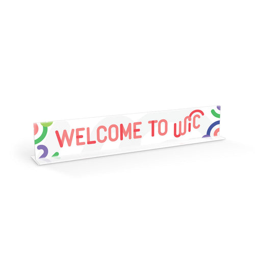 Welcome to WIC Sign Set