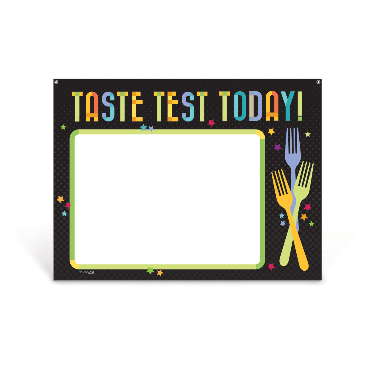 Taste Test Today Dry Erase Board