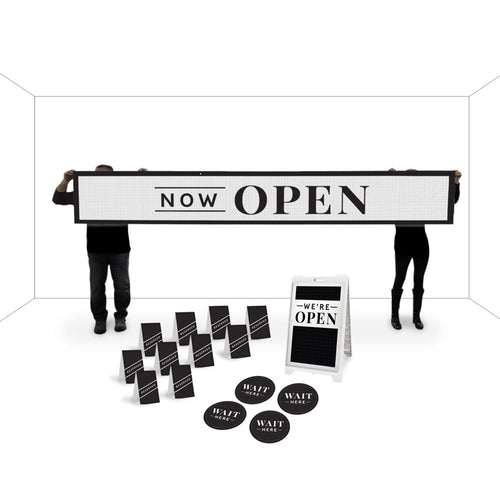 Open for Business Signage Starter Kit