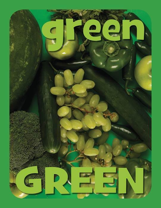 Mini Color Posters - Green
