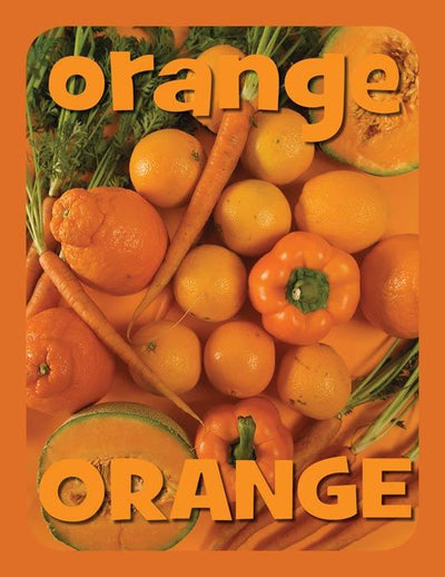 Mini Color Posters - Orange