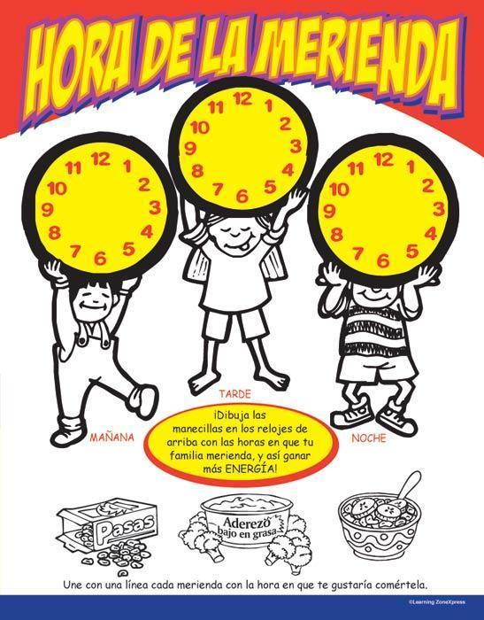Snack Attack Activity Books (Ages 2-6) Spanish