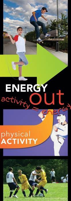 Energy In/Energy Out Poster Set