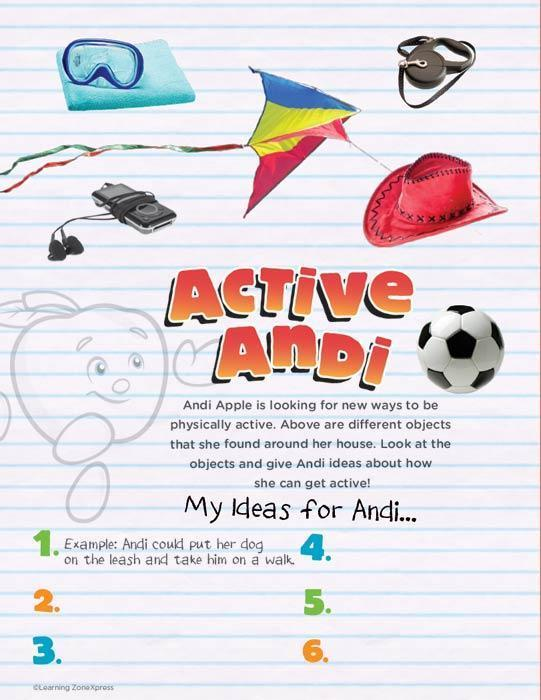 Live 54321+10® Physical Activity Activity Books
