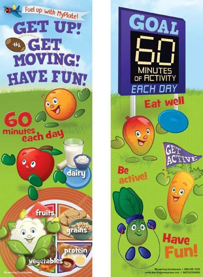 Active Kids MyPlate Bookmarks