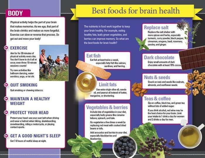 Brain Health Brochures