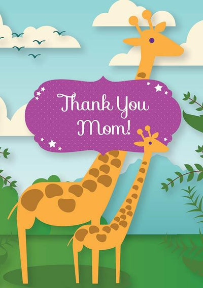 Breastfeeding Thank You Post Cards