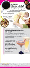 Beverage Choices When Breastfeeding Education Cards