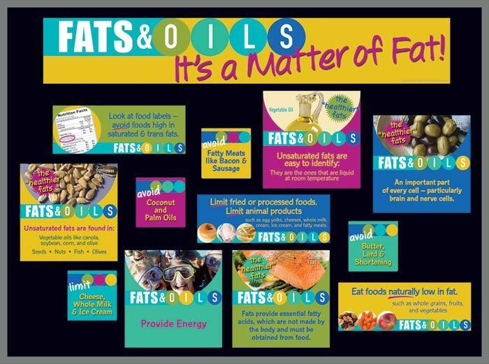 Fats & Oils Bulletin Board Kit