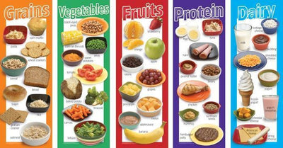 Food Groups Poster Set