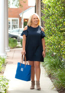 Royal Blue Tote