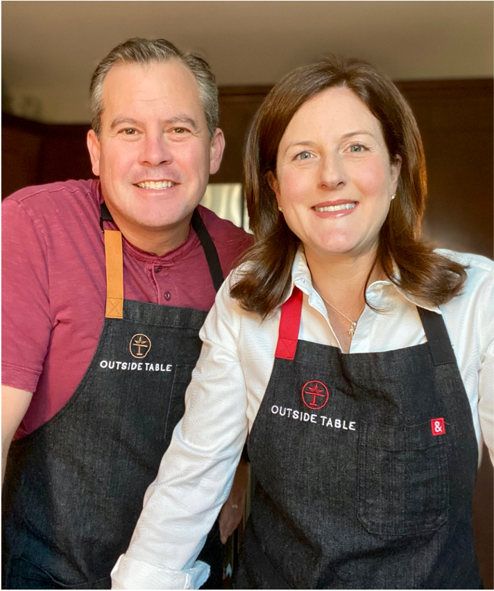 Ken and Heidi, Co-founders of Outside Table