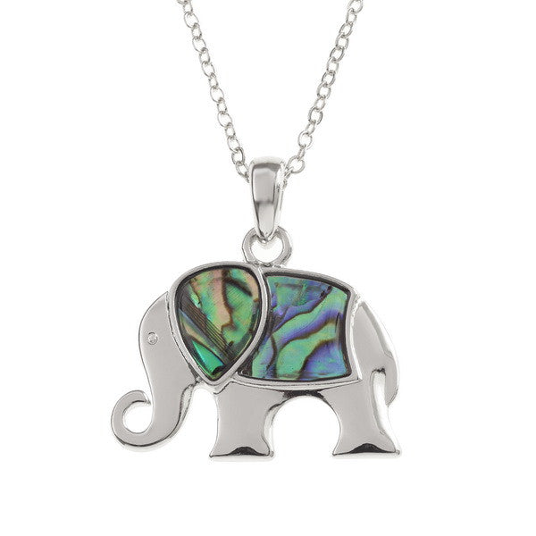 Shell Stylised Elephant Pendant