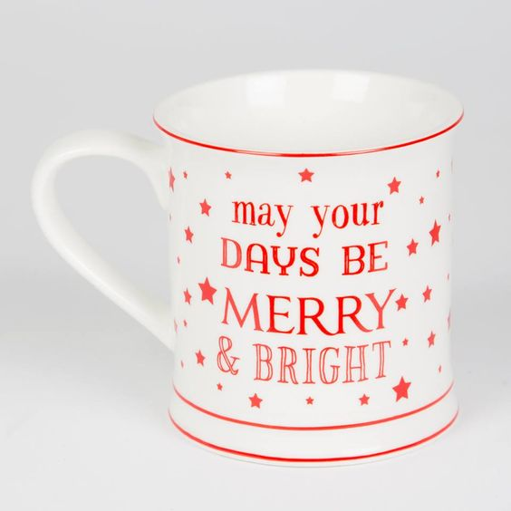 May Your Days Be Merry Mug