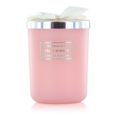 Fruit Sorbet Lychee and Coconut Fragrant Candle