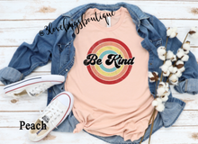 Load image into Gallery viewer, Retro Be Kind T-shirt(Vintage) - 3lovebugsboutique