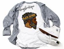 Load image into Gallery viewer, Black Father T'Shirt - 3lovebugsboutique