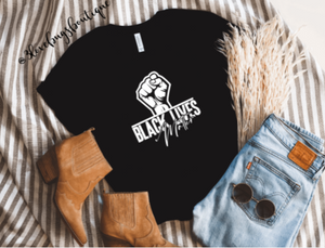 Black Lives Matter Shirt - 3lovebugsboutique