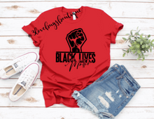 Load image into Gallery viewer, Black Lives Matter Shirt - 3lovebugsboutique