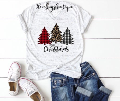 Merry Christmas Shirt - 3lovebugsboutique
