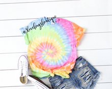 Load image into Gallery viewer, Tie Dye Shirt - 3lovebugsboutique
