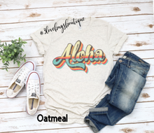 Load image into Gallery viewer, Aloha RetroT-shirt(Vintage) - 3lovebugsboutique