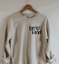 Load image into Gallery viewer, Be Kind Sweatshirt