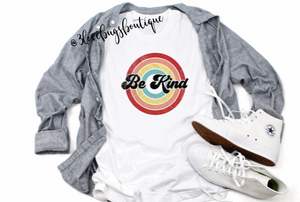 Retro Be Kind T-shirt(Vintage) - 3lovebugsboutique